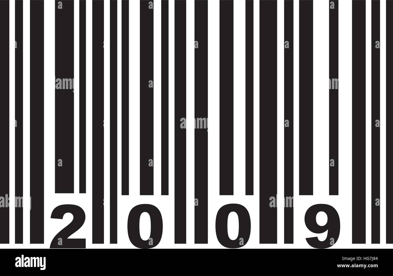 Barcode 2009 - Stock Vector