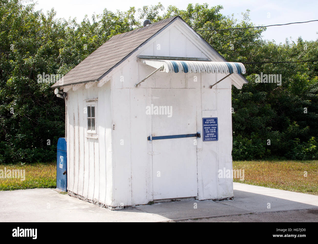 tiny office. Tiny Post Office In Ochopee Florida A
