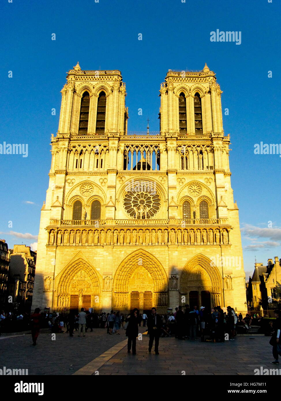 Our Lady of Paris - Stock Image