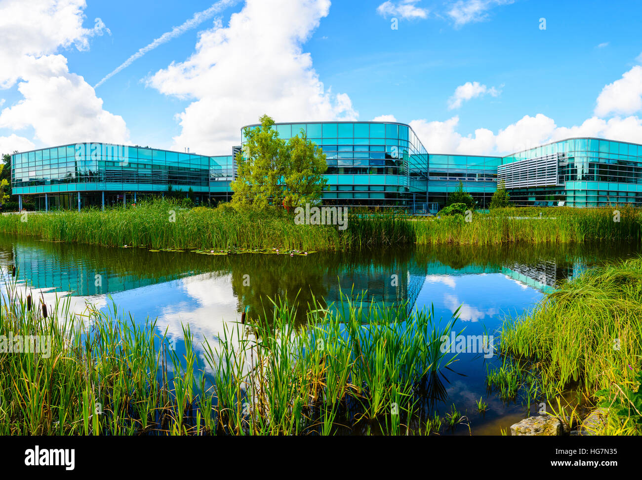 Faculty of Health & Social Care building at Edge Hill University near Ormskirk Lancashire - Stock Image