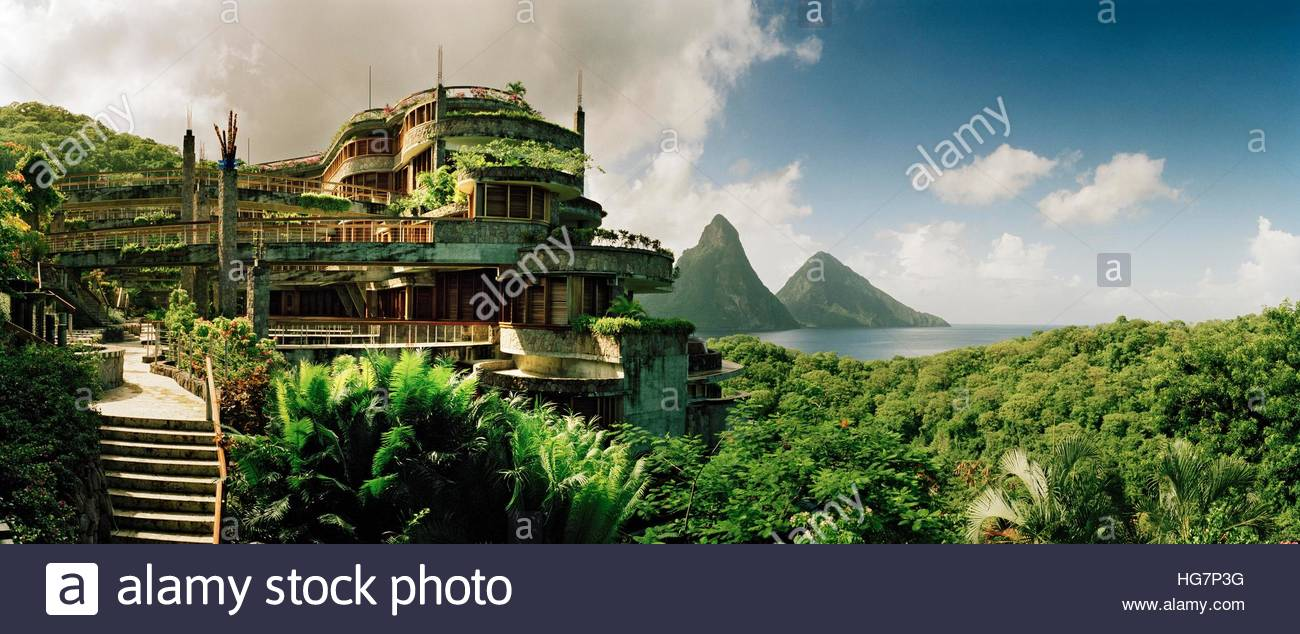 Jade Mountain Resort, where each suite has a view of the