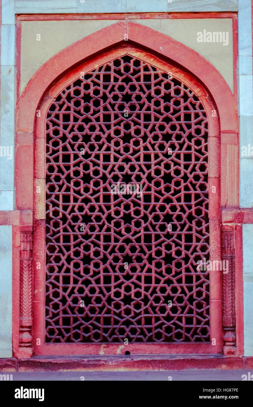 UNESCO World heritage site 'Humayun Tombs' New Delhi, India. - Stock Image
