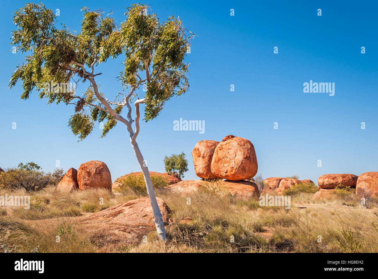 Devils Marbles, Northern Territory, Australia - Stock Image
