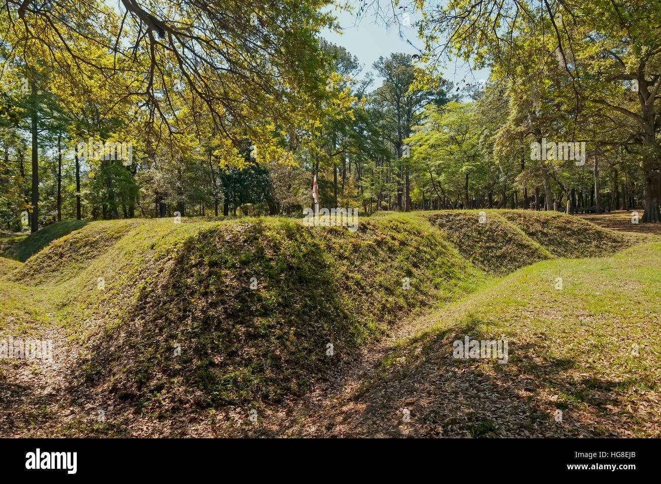 Fort Raleigh National Historic Site, Manteo, Roanoke Island, North Carolina - Stock Image