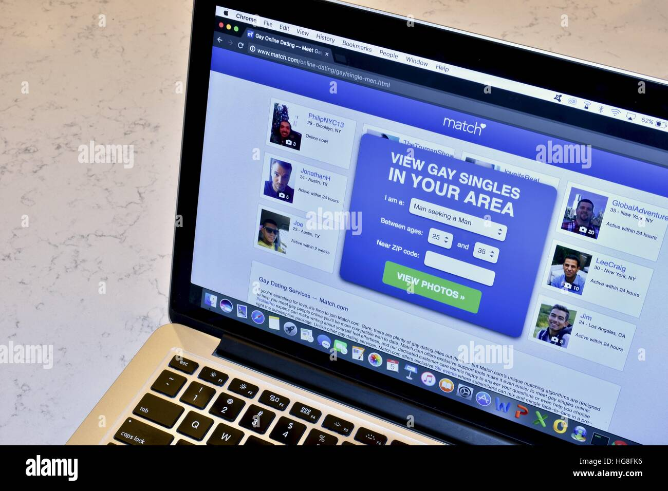 Angeles Dating-Website