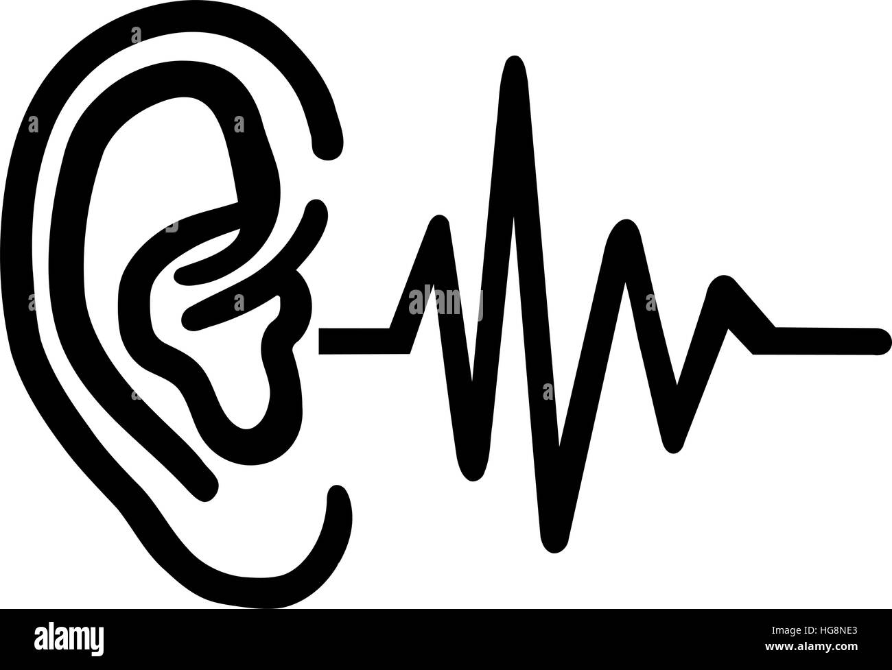 Hearing Aid Stock Vector Images Alamy