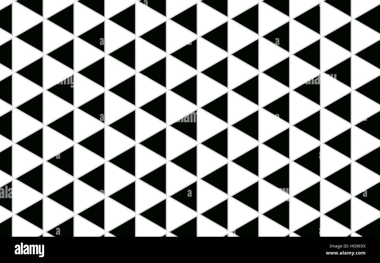 geometric triangle black and white pattern abstract