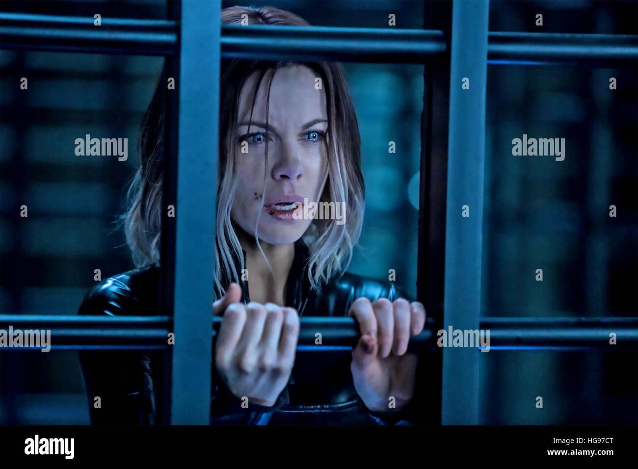 UNDERWORLD : BLOOD WARS 2016 Lakeshore Entertainment film with Kate Beckinsale - Stock Image