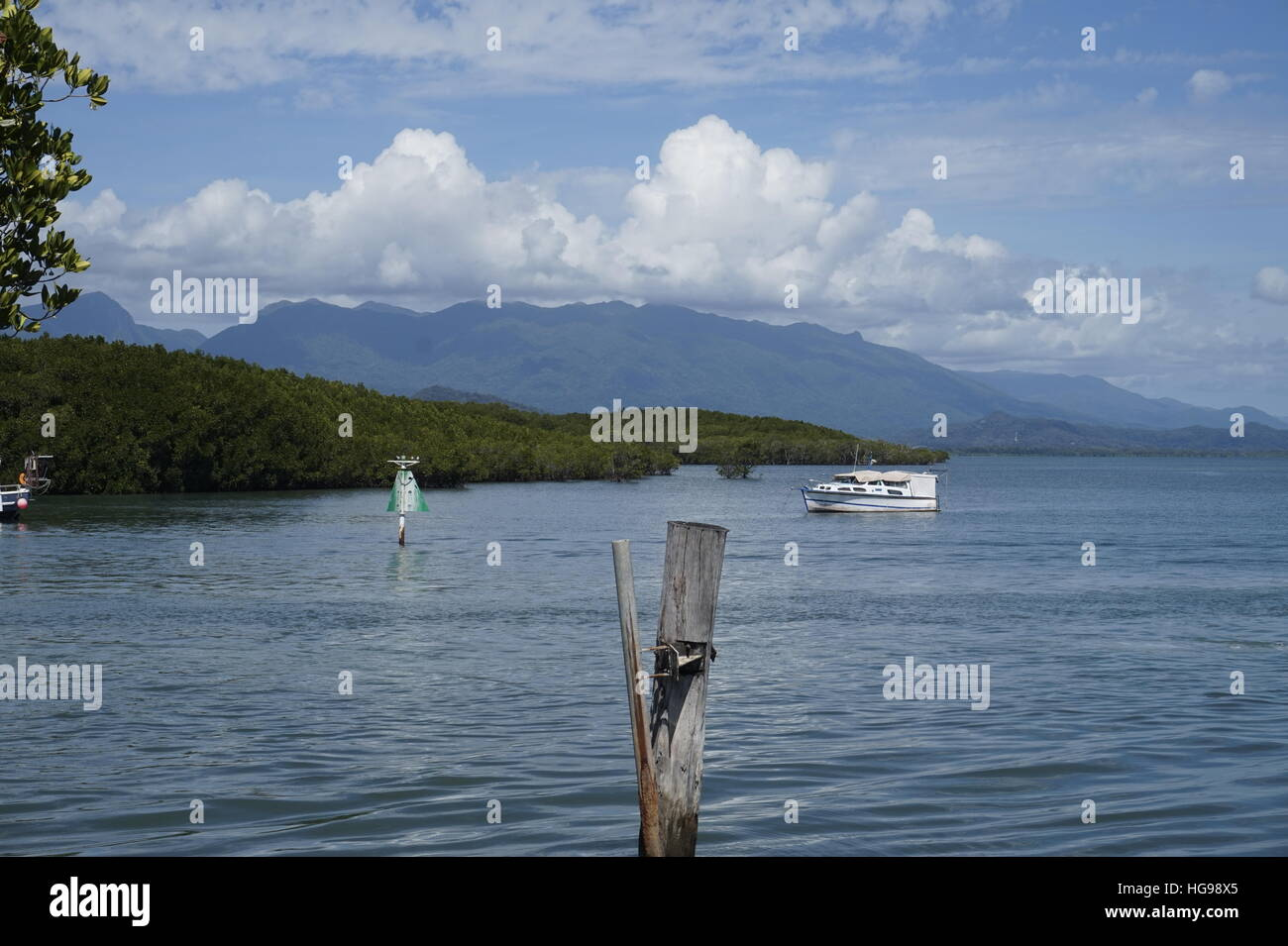 View from Port Douglas - Stock Image
