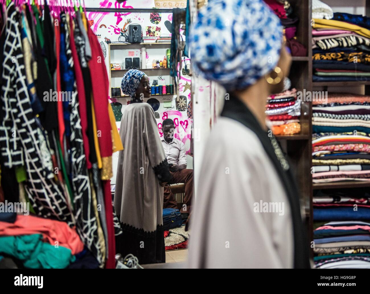 Islamic Fashion High Resolution Stock Photography And Images Alamy