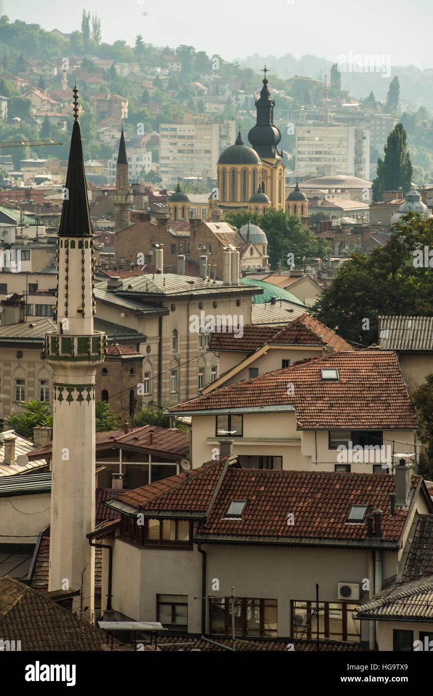 Sarajeveo; Bosnia and Herzegovina, Balcan - Stock Image