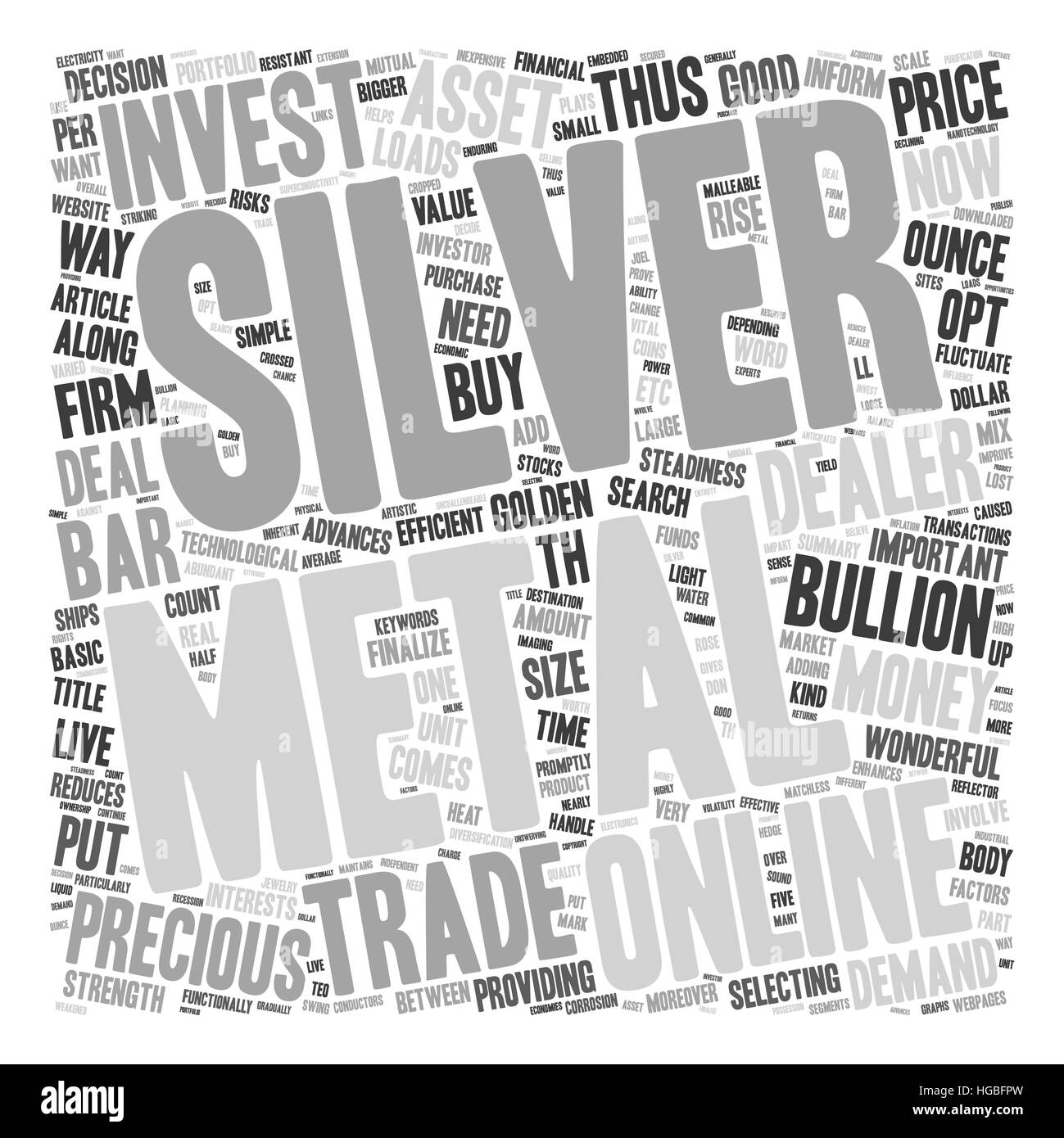 Why Silver May Be A Golden Investment For 2007 text background wordcloud concept - Stock Vector
