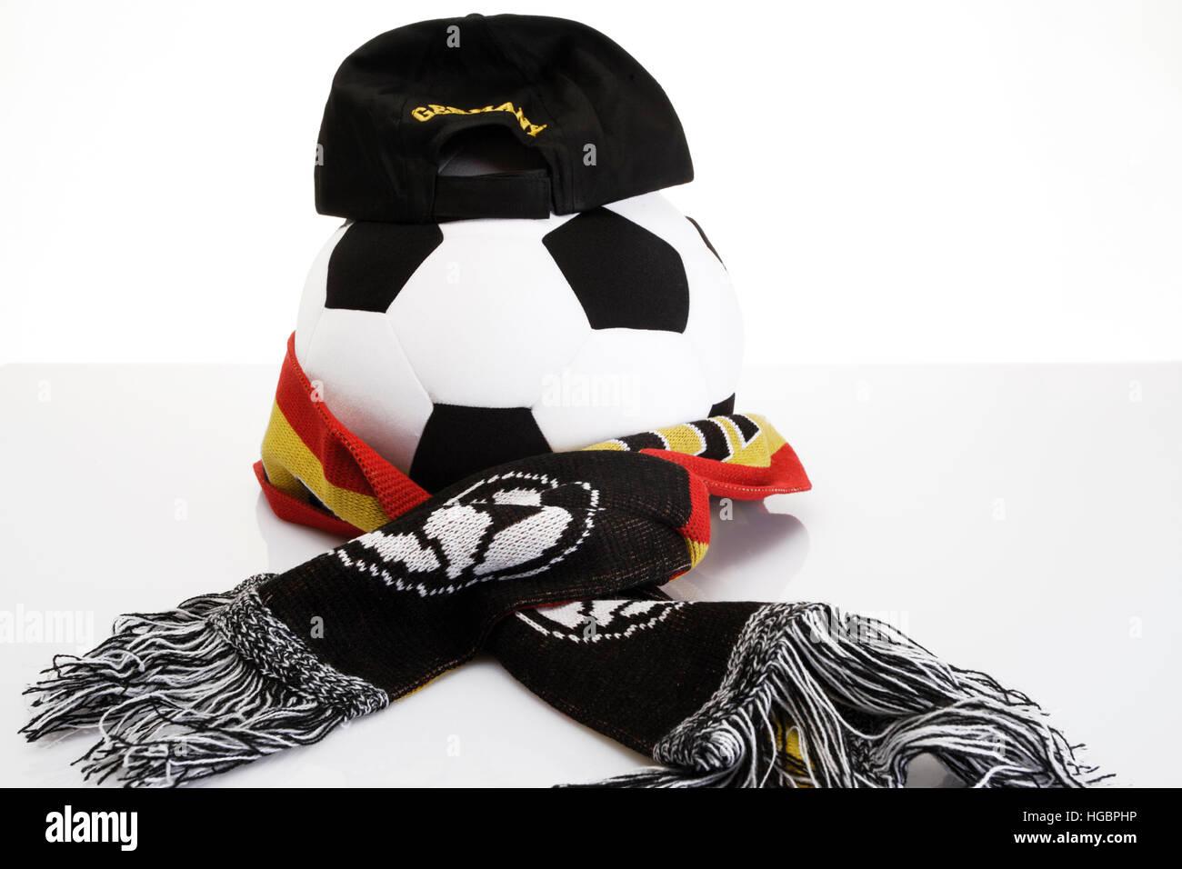 Football, fan merchandise Stock Photo
