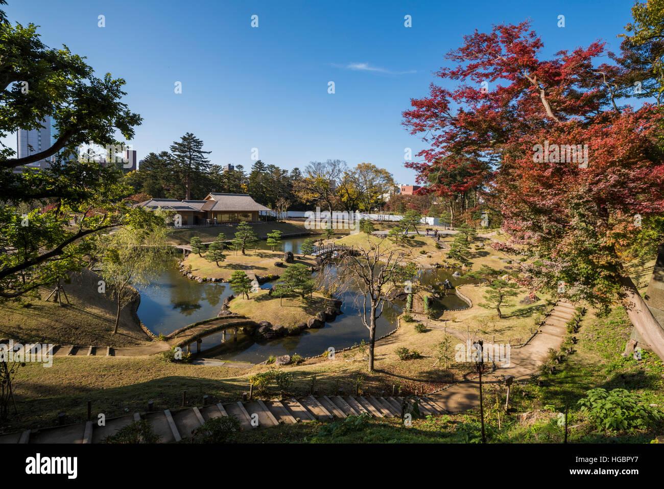 Gyokusen\'inmaru Garden, Kanazawa Castle, Kanazawa City, Ishikawa ...
