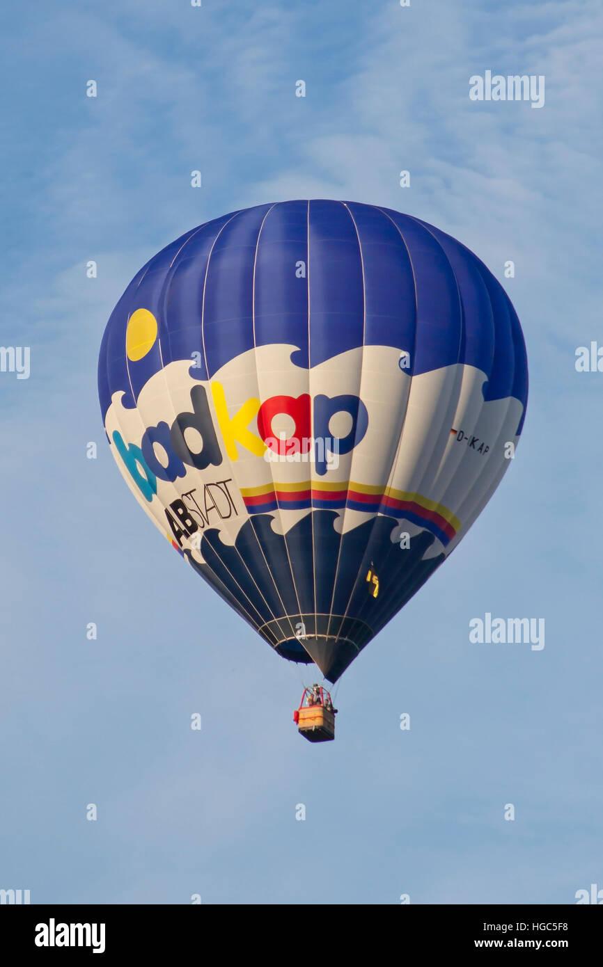 D-OKAP Lindstrand LBL Hot Air Balloon of Badkap Albstadt at Bristol International Balloon Fiesta 2016 Stock Photo