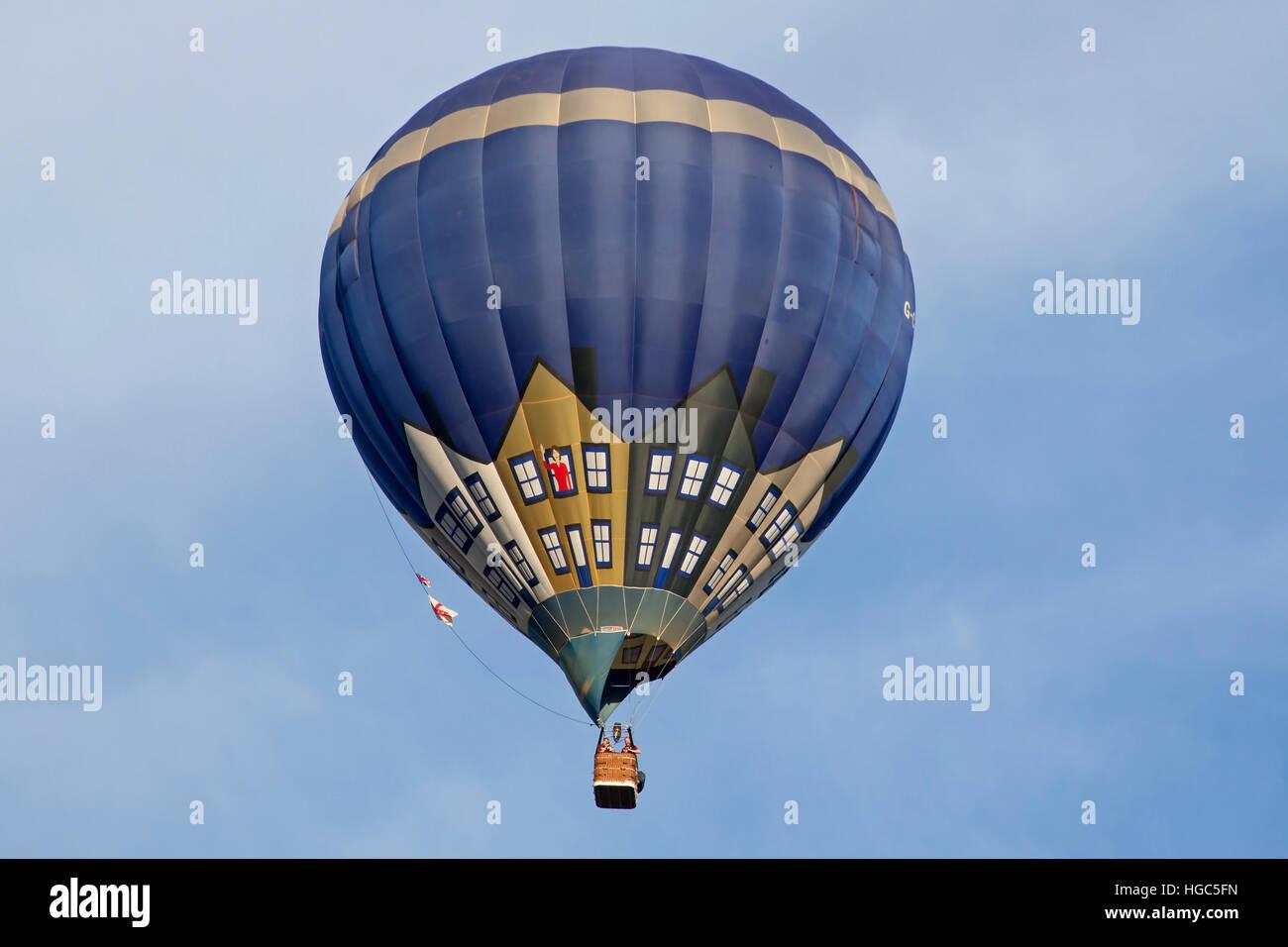 G-CBMK Cameron Hot Air Balloon at Bristol International Balloon Fiesta 2016 Stock Photo