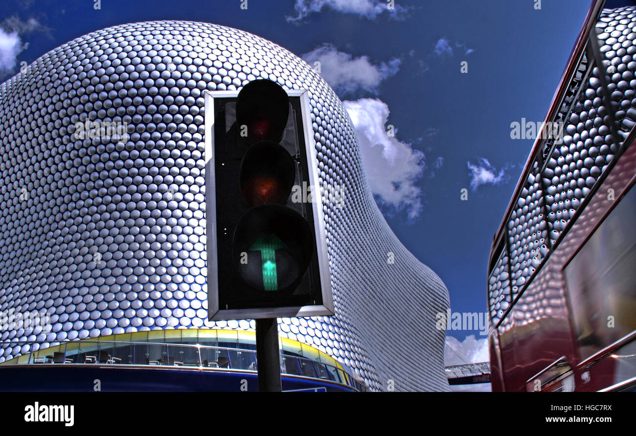Selfridges,Birmingham Bullring,West Midlands, England, UK - Stock Image