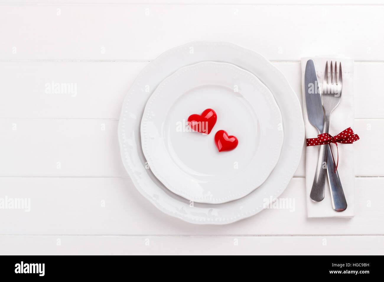 Template Festive Romantic Table Setting Stock Photos Template