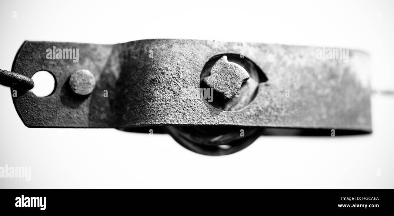 Vineyard detailed metal - Stock Image