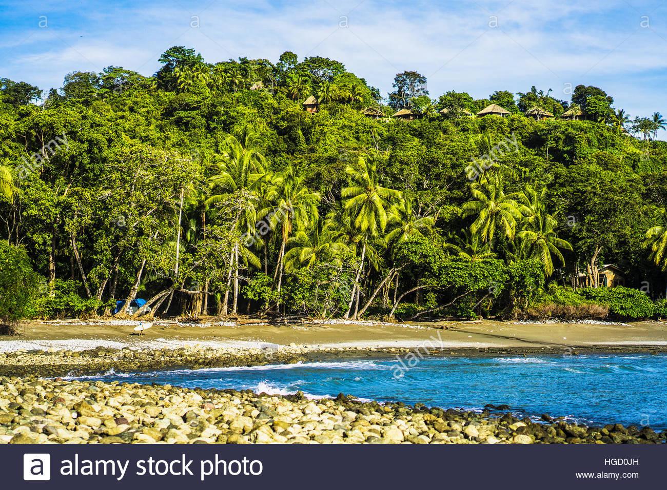 Exploring the rural coast of Costa rica, Osa peninsula, Costa rica, Central America 2015 - Stock Image