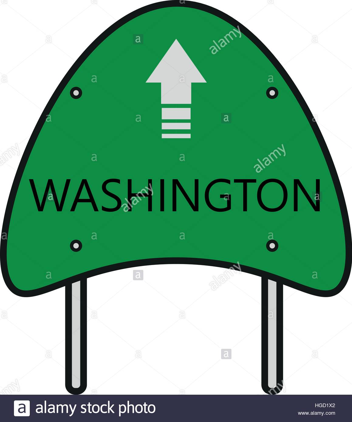 Washington State - Stock Vector