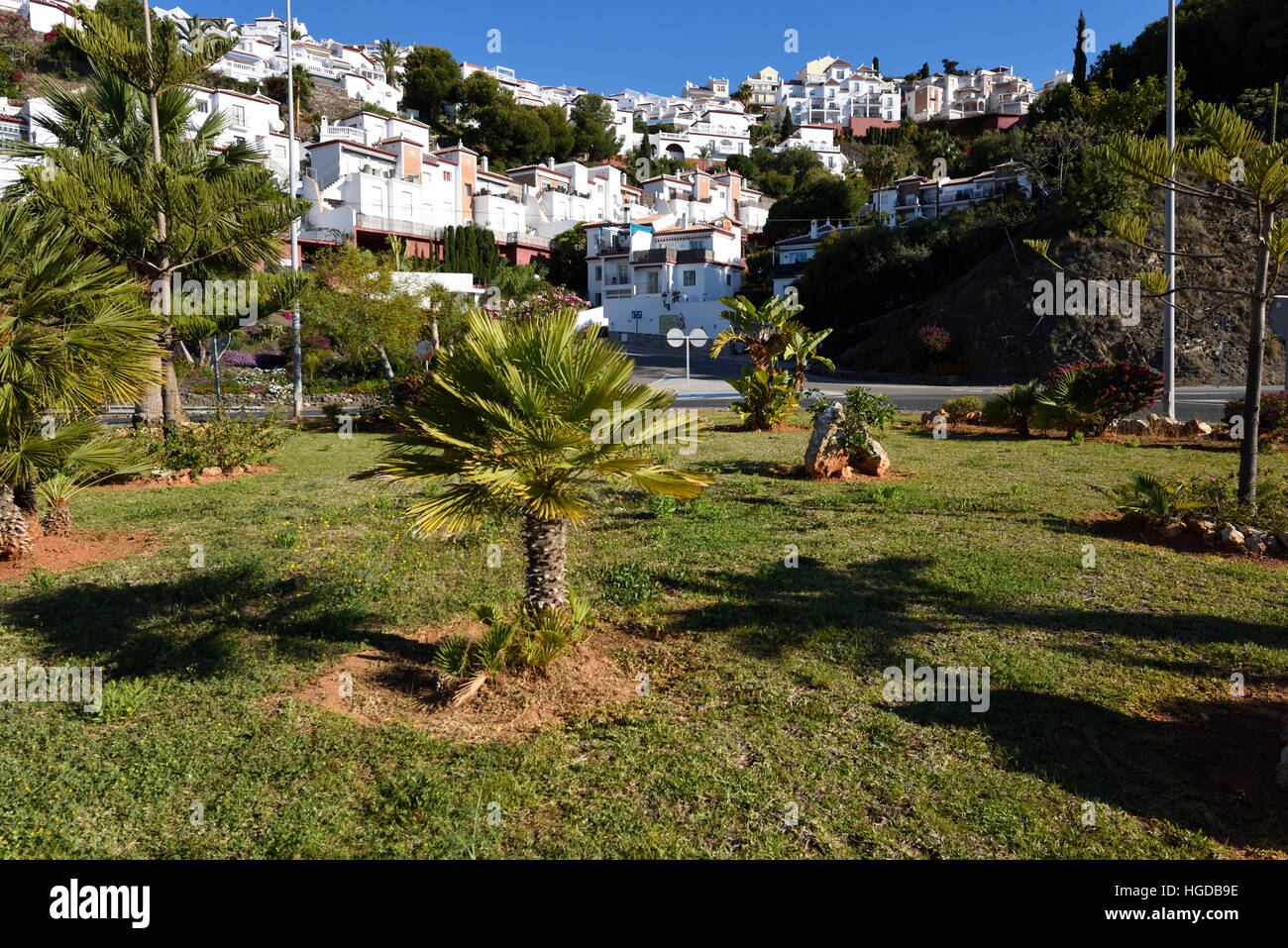 Holyday resort La Decas del Mar in Nerja - Stock Image