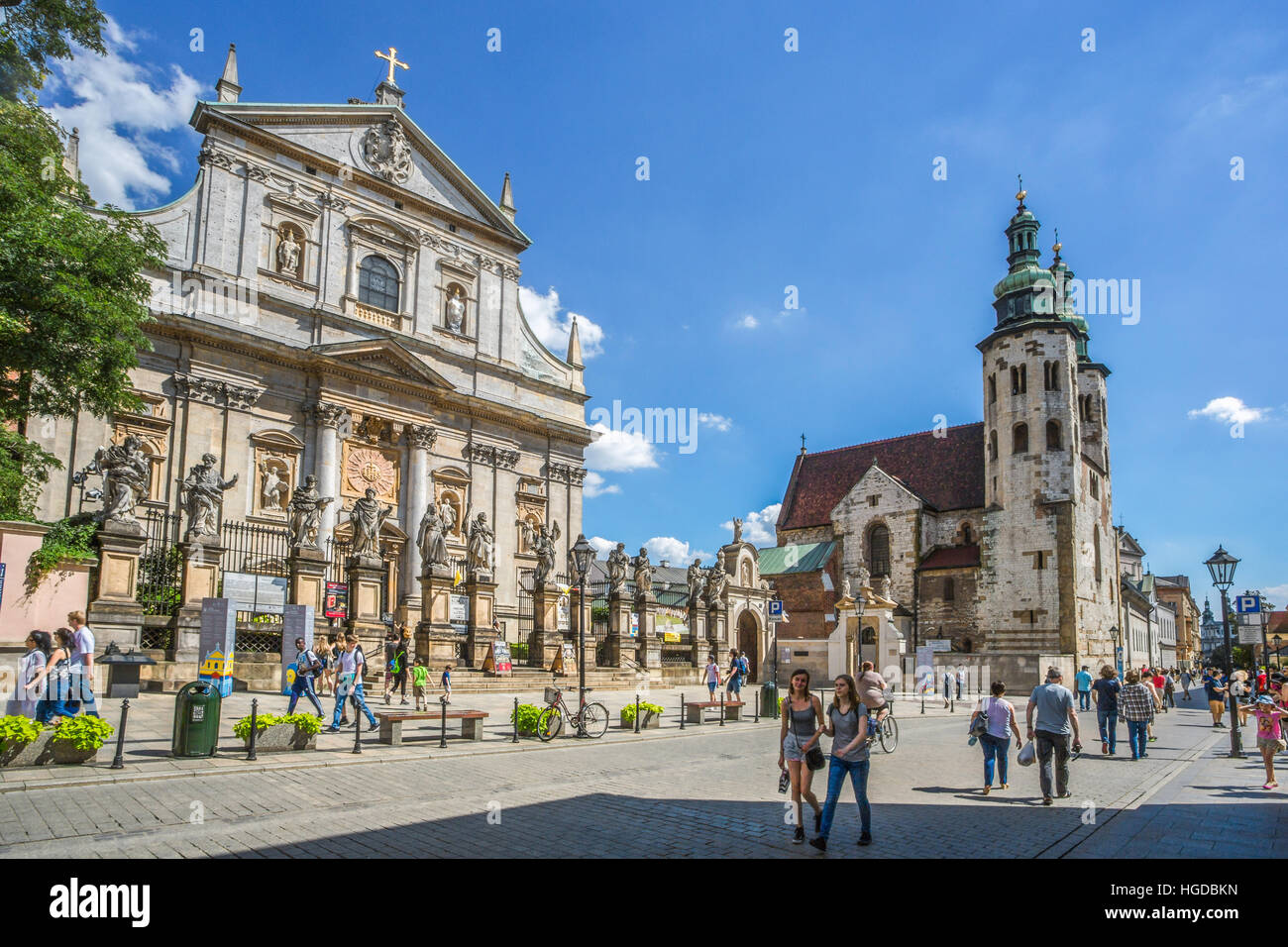 St. Peter and Paul Church in Krakow - Stock Image