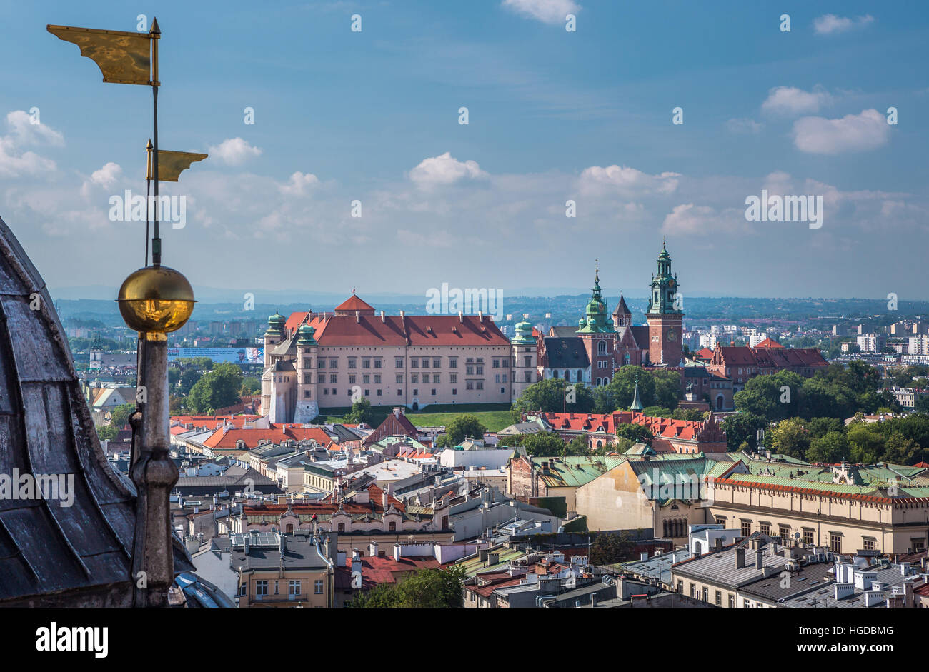 Wawel Royal Castle - Stock Image