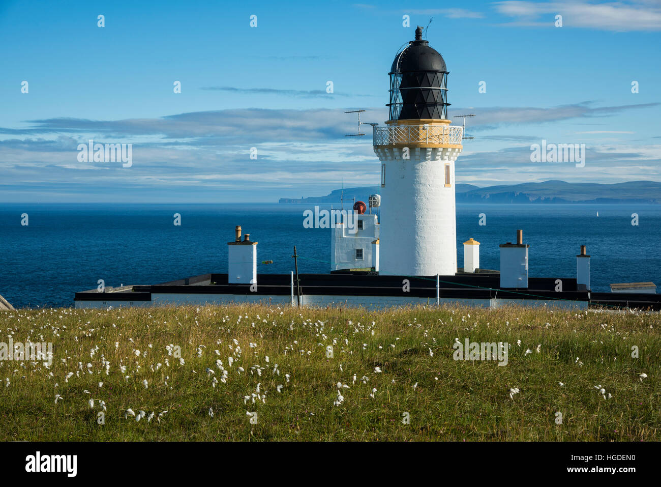 Scotland, Dunnet Head is a peninsula in Caithness Stock Photo