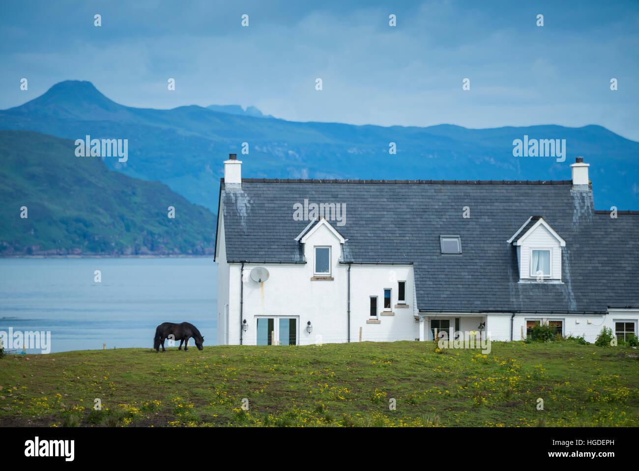 Scotland, Hebrides archipelago, Isle of Skye - Stock Image