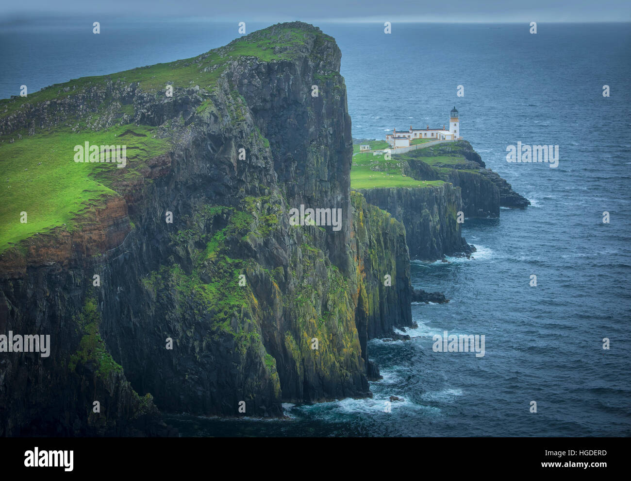 Scotland, Hebrides archipelago, Isle of Skye, Neist Lighthouse - Stock Image
