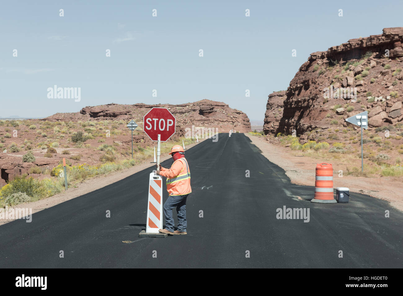 USA, Arizona, Navajo Indian Reservation, Kayenta - Stock Image