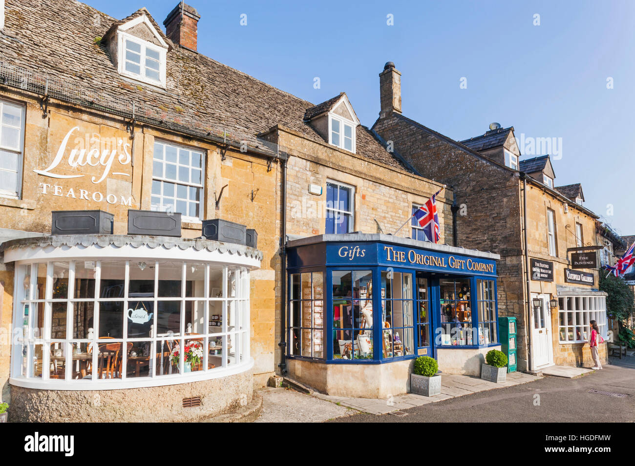 England, Gloucestershire, Cotswolds, Stow-on-the-wold - Stock Image