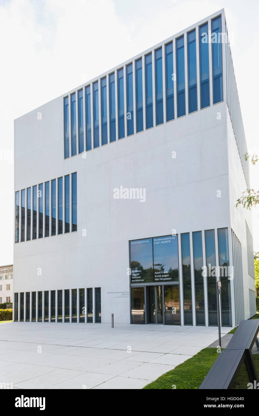 Germany, Bavaria, Munich, National Socialist Document Centre Building - Stock Image