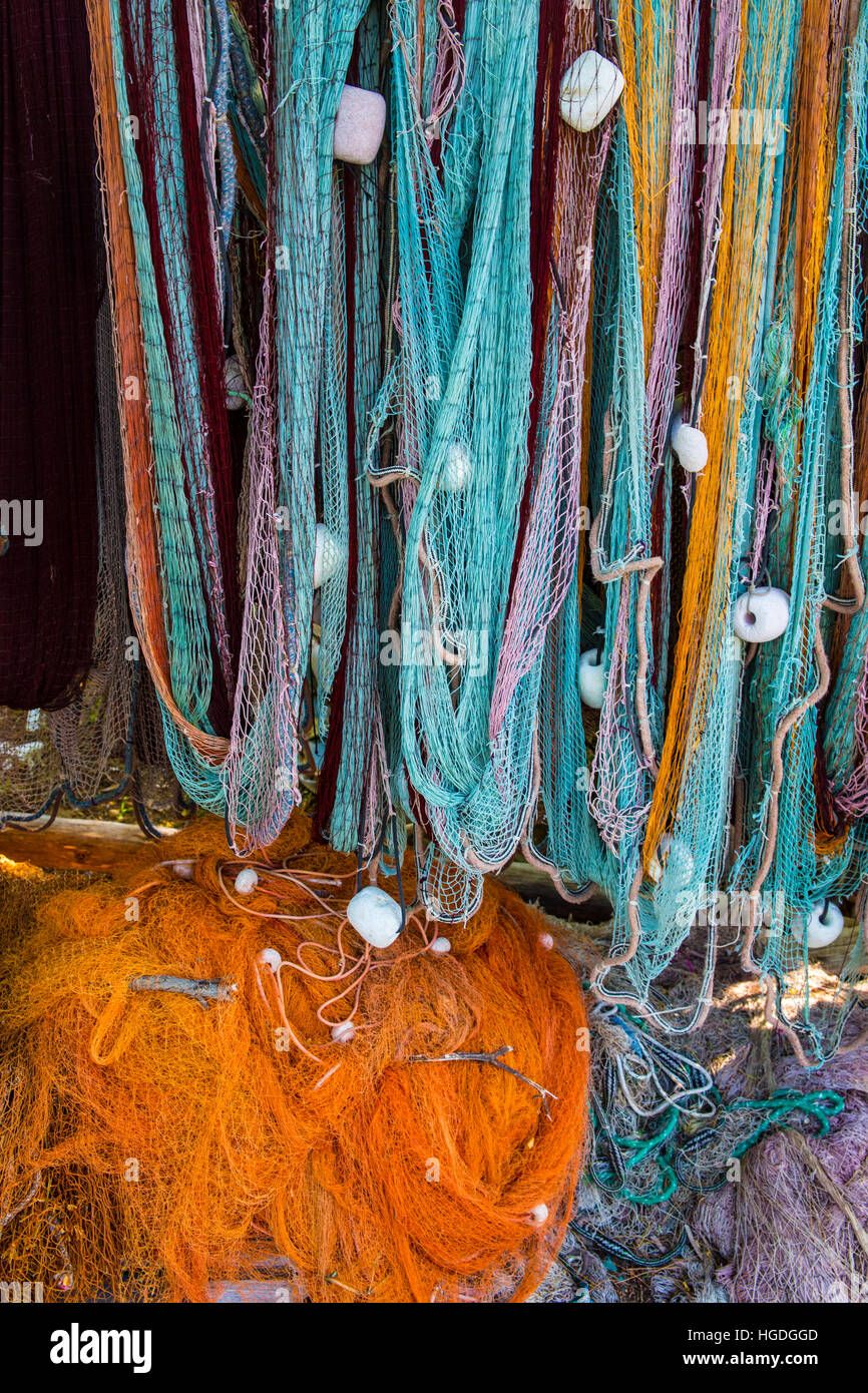 Fishing net, - Stock Image