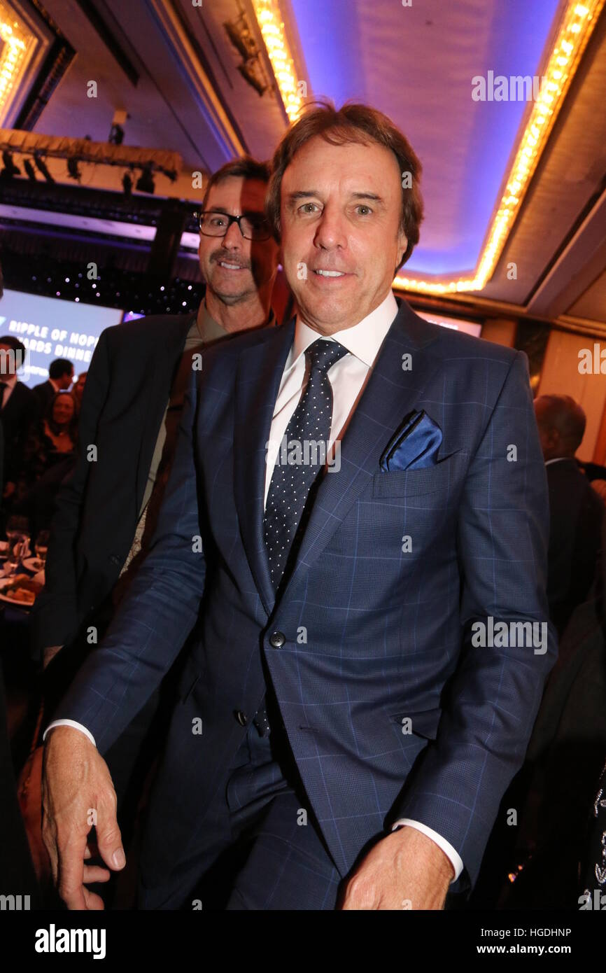 RFK Human Rights Ripple of Hope Awards Honoring VP Joe Biden  Featuring: Kevin Nealon Where: New York, New York, - Stock Image