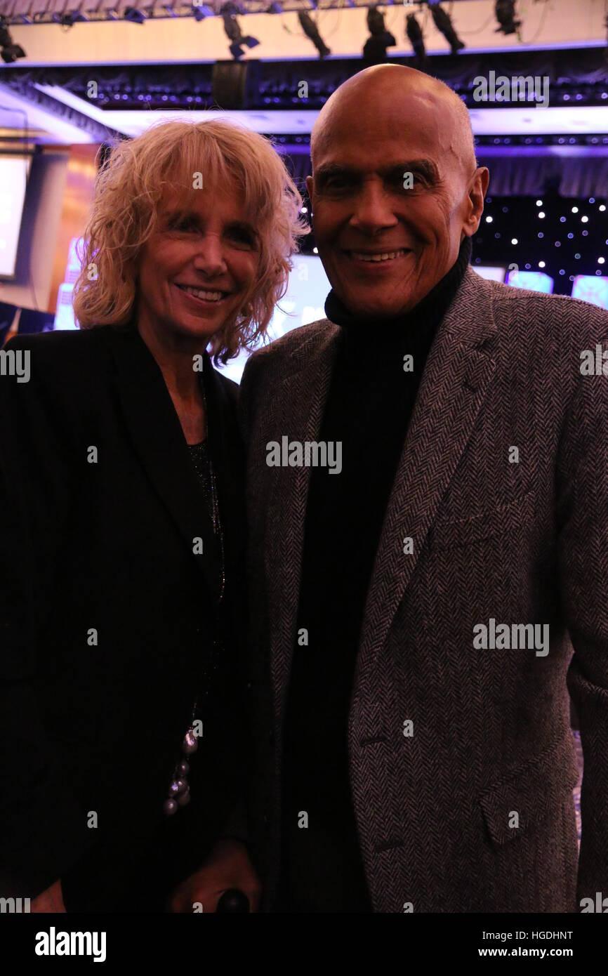 RFK Human Rights Ripple of Hope Awards Honoring VP Joe Biden  Featuring: Pamela Belafonte, Harry Belafonte Where: - Stock Image