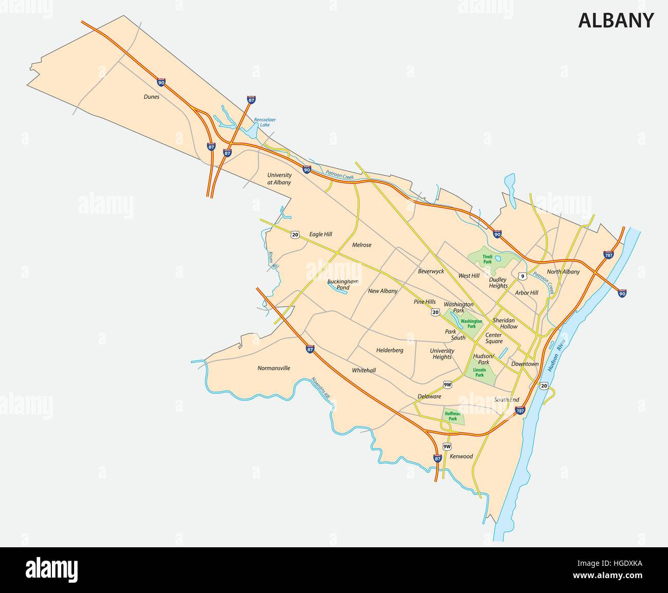 map of Albany the capital of the US State of New York Stock Vector On The Map Where Is Albany New York Us on colonie ny map, albony to new york city map, upstate ny casino map,