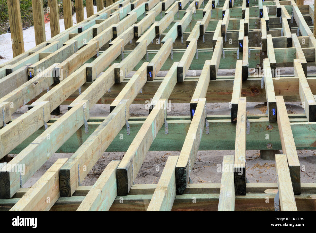 Deck boards stock photos images alamy