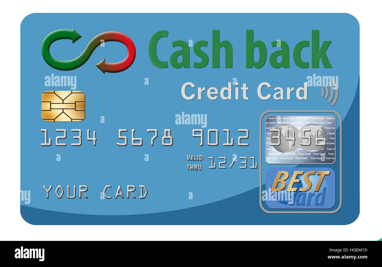 Credit card cash back stock photos credit card cash back stock cash back credit cards reward the user with cash returned for using the card to make reheart Images