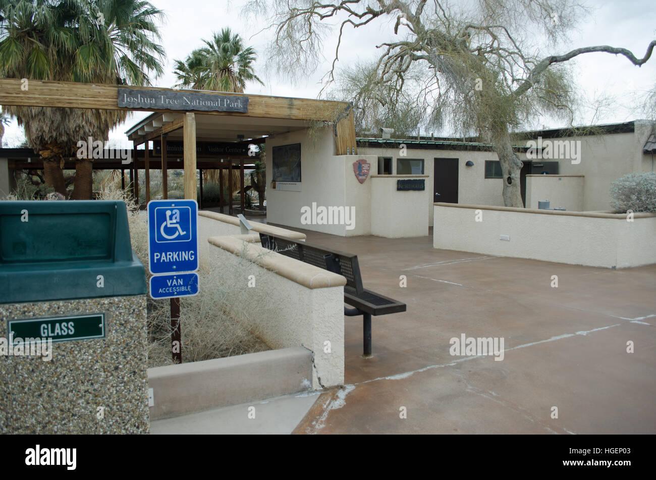 Joshua Tree NP, CA, USA Visitor Center, 29 Palms CA - Stock Image