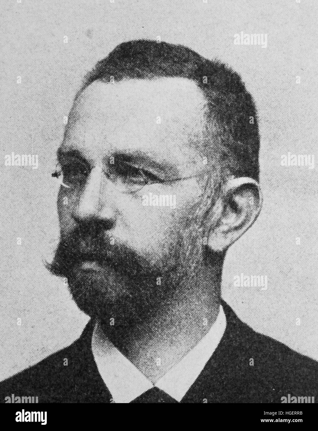 Carl von Bach, Born March 8, 1847; Died October 10, 1931; Full name Julius Carl von Bach, was a German mechanical - Stock Image