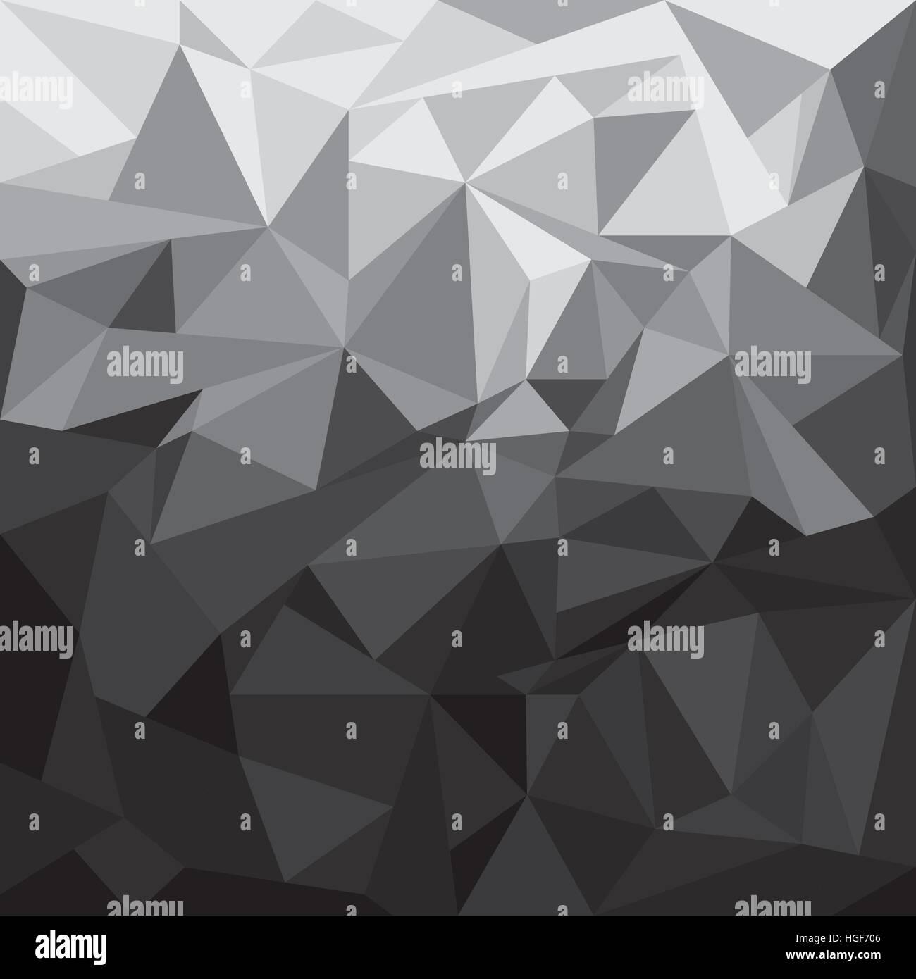 Geometric Illustration Black Grey Wallpaper Backdrop Texture