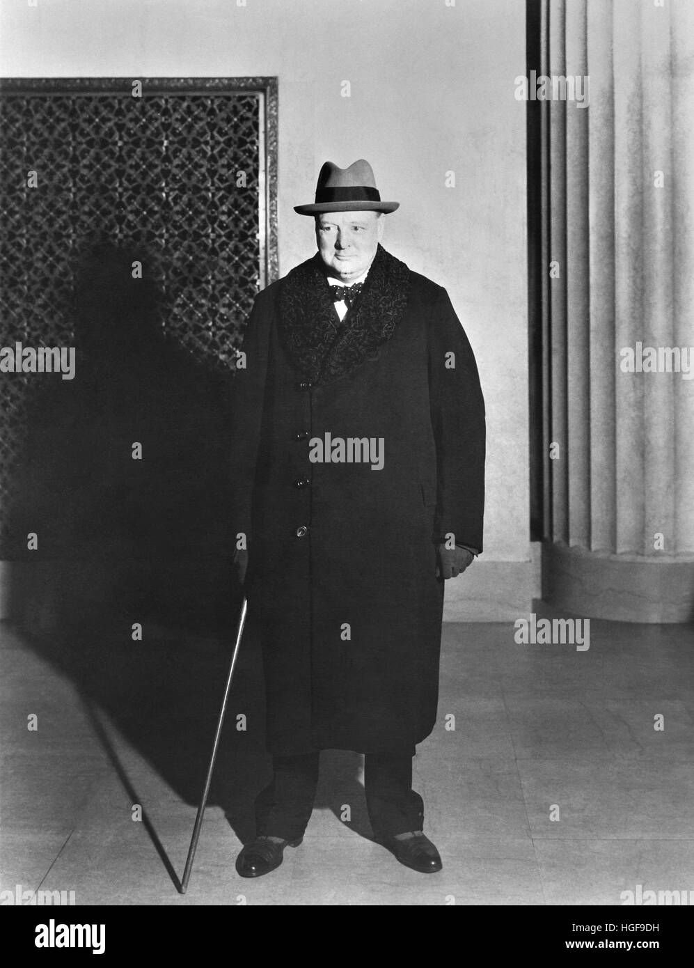 Churchill. 1939 - Stock Image