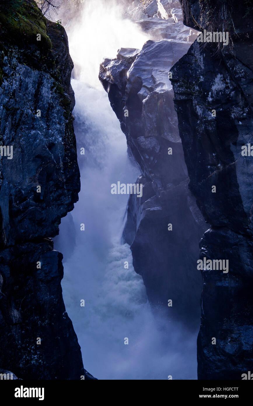 nairn falls provincial park, bc, Canada - Stock Image