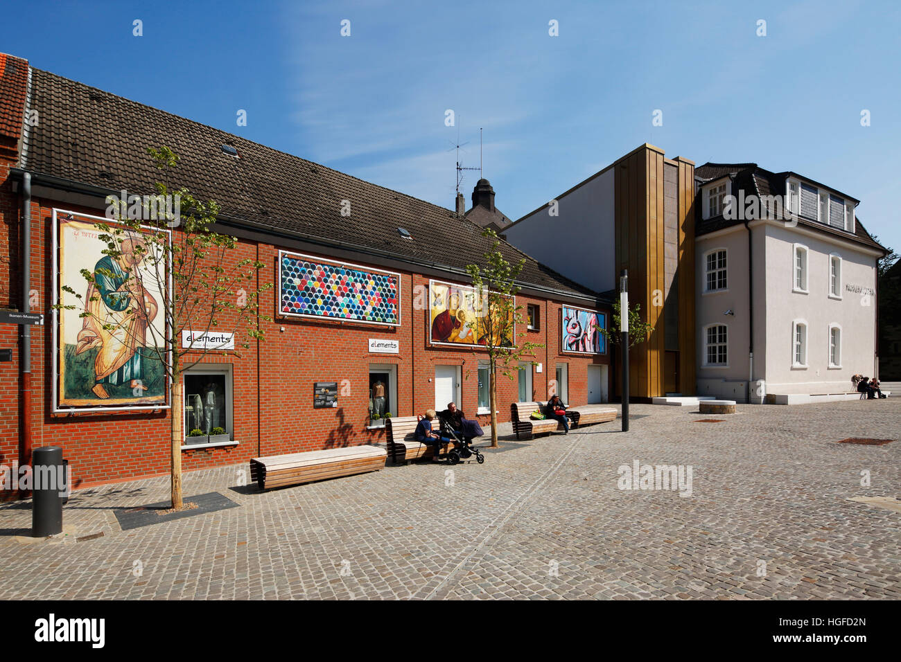 Icon museum in Recklinghausen, Ruhr area, North Rhine-Westphalia Stock Photo