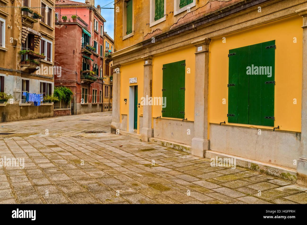 Italy Veneto Venice St. Elena Island - - Stock Image