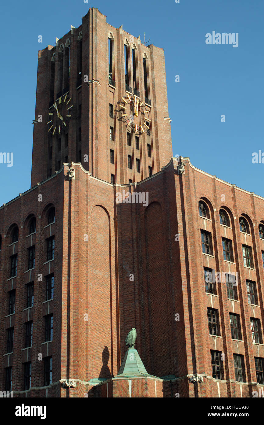 UllsteinHaus tower seen from north west. - Stock Image