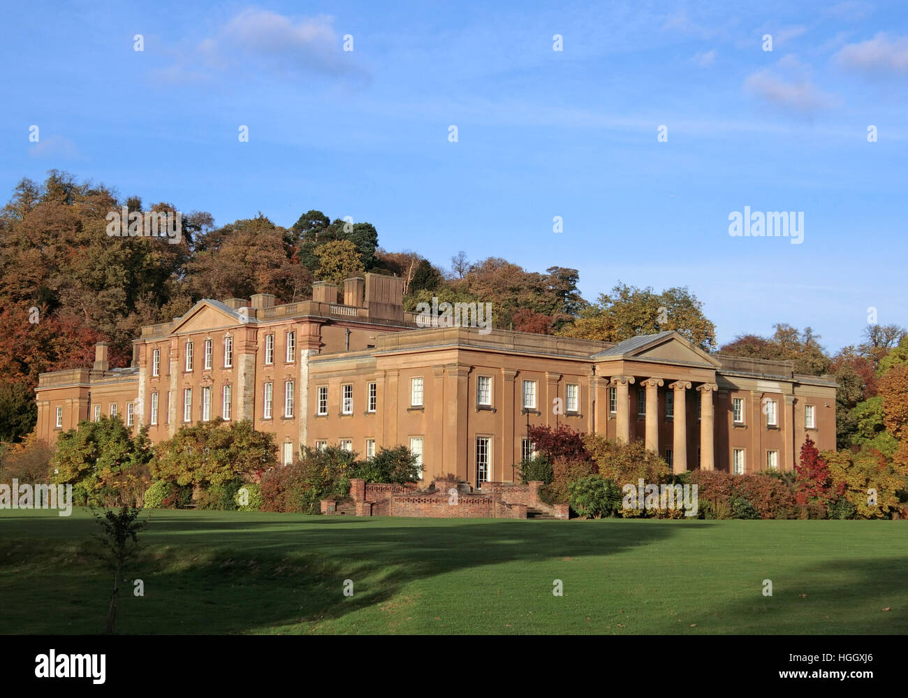 Himley Hall Country House, Himley, Staffordshire, England, UK - Stock Image