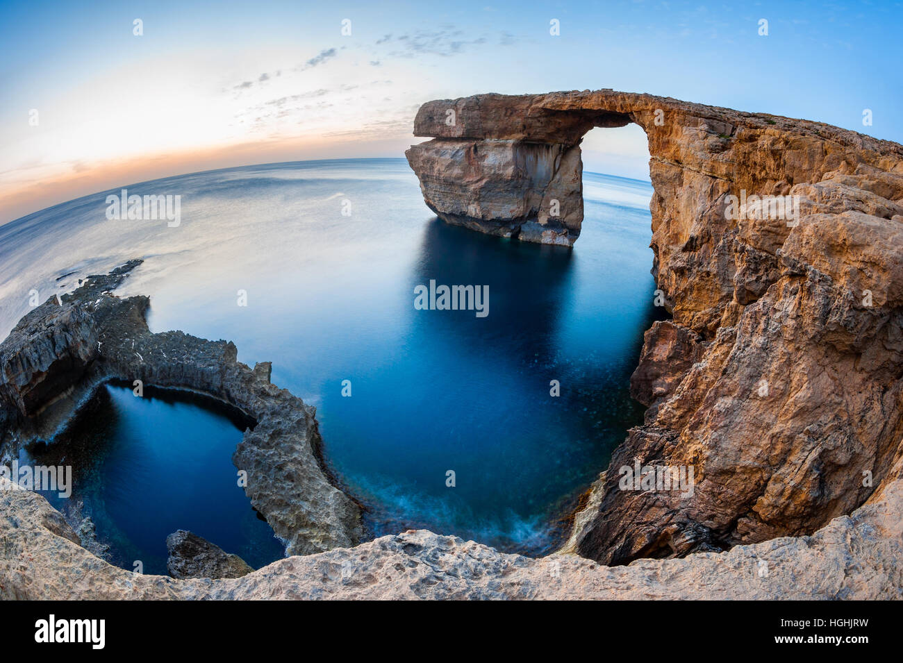 Azure Window Malta - Stock Image